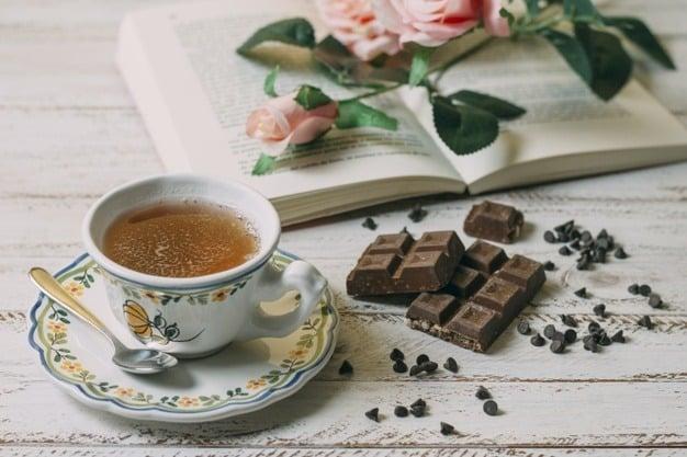 té con chocolate