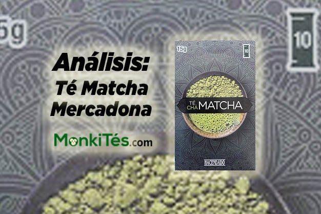 Portada del análisis del té verde matcha Mercadona