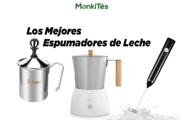 Portada de los mejores espumadores de leche en MonkiTés