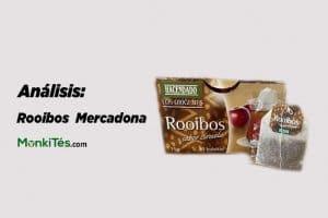 Portada del análisis del té rooibos Mercadona en MonkiTés